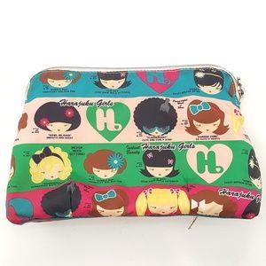 Harajuku lovers make up bag, cosmetics bag.